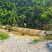 The irrigation system of Khe Vang is restored!
