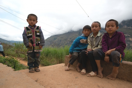 Let's support the education of Ha Giang children